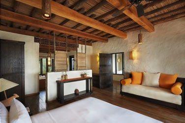Chambre de la Zighy Pool Villa Suite front de mer