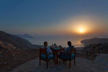 Prenez le petit déjeuner au lever du soleil... Un spectacle merveilleux !