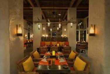 Un cadre oriental traditionnel pour le restaurant Spice Market
