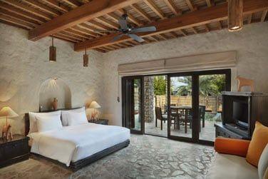 Chambre de la Villa Suite Zighy avec piscine