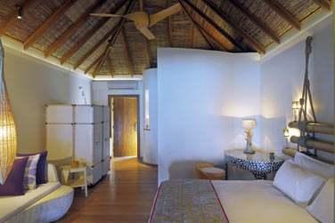 Les villas plage sont spacieuses et très confortables