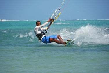 Amateurs de kitesurf ? Sachez que Rodrigues possède l'un des meilleurs spots au monde !