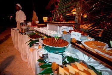 Vous dégusterez une cuisine créole et internatioanle