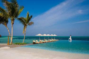 Vous êtes aux Maldives, dans un environnement exceptionnel...