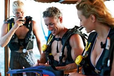 Mais les grands aussi seront ravis par la palette d'activités disponibles à l'hôtel : plongée sous-marine...