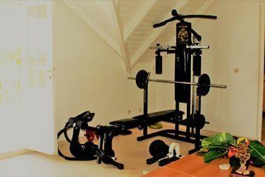 Et un équipement sportif rien que pour vous!