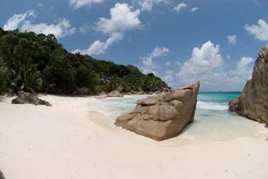 La plage d'Anse Patate est tout simplement magnifique