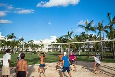 Ou faire une petite partie de Beach Volley