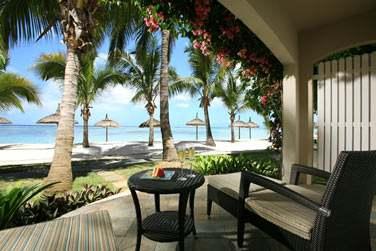 Toutes les chambres donnent sur un balcon ou une terrasse privée