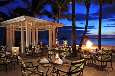 Le restaurant Citronella vous offre un cadre très romantique, face à la mer, idéal pour un dîner en amoureux