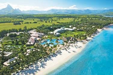Bienvenue à l'hôtel Sugar Beach Resort, situé sur la côte ouest de l'île Maurice