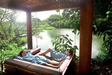 Un pavillon idéal pour une séance de massage ou tout simplement se relaxer