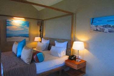 Les chambres offrent à la fois confort et tranquillité et ont été décorées avec beaucoup de goût