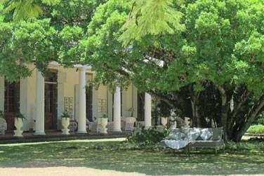 Les jardins de la Demeure Saint Antoine sont somptueux