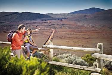 Les paysages entourant le volcan, le célèbre Piton de la Fournaise, sont incroyables !