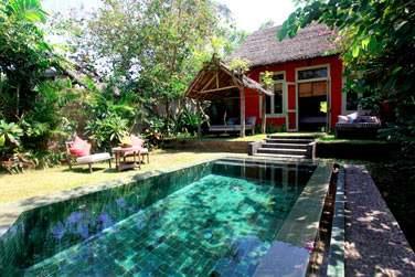 sa piscine privée