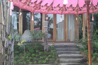 Les villas à la décoration balinaise sont pleines de charme.