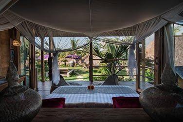 ... elles vous offrent une vue incroyable sur la végétation luxuriante des lieux !