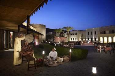 Soirée traditionnelle omanaise...