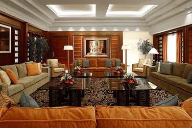 Le grand salon de la Suite Royale