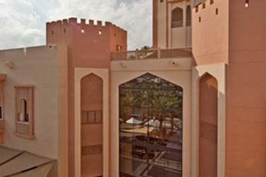 L'architecture traditionnelle de l'hôtel Al Bandar