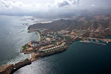 Bienvenue au complexe Shangri-La's Barr Al Jissah Resort & Spa !
