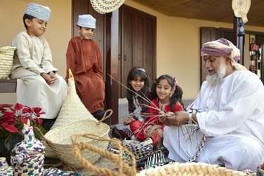 Les artisans omanais vous feront découvrir leur traditions et artisanat