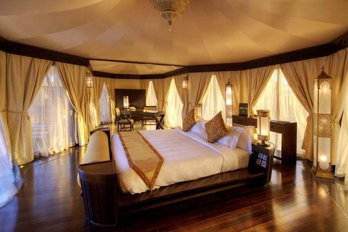 al khaimah tented pool villa