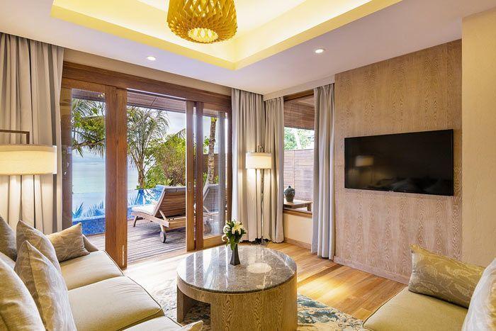 résidence plage avec piscine