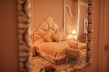 Intérieur de la chambre Perle