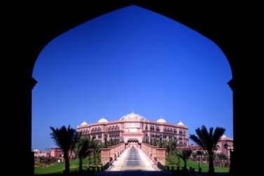 Bienvenue au luxueux Emirates Palace