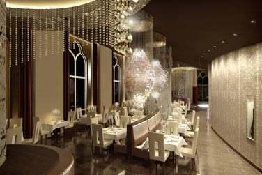 Etoiles, un restaurant trendy dans un cadre design et contemporain.