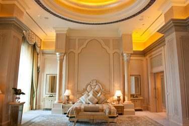 Chambre principale de la Suite Palace (sur demande uniquement)