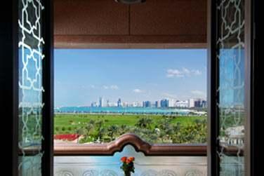 Vue du balcon de la chambre Perle