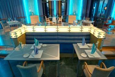 Le Sayad est une élégante brasserie traditionnelle servant des plats à base de fruits de mer, revisités...