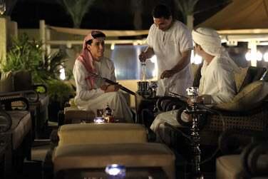 Le restaurant Ghadeer où il fait bon partager une shisha dans l'espace lounge près de la piscine