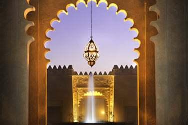 L'architecture de l'hôtel, d'inspration traditionnelle arabe, vous fera voyager... Dépaysement garanti