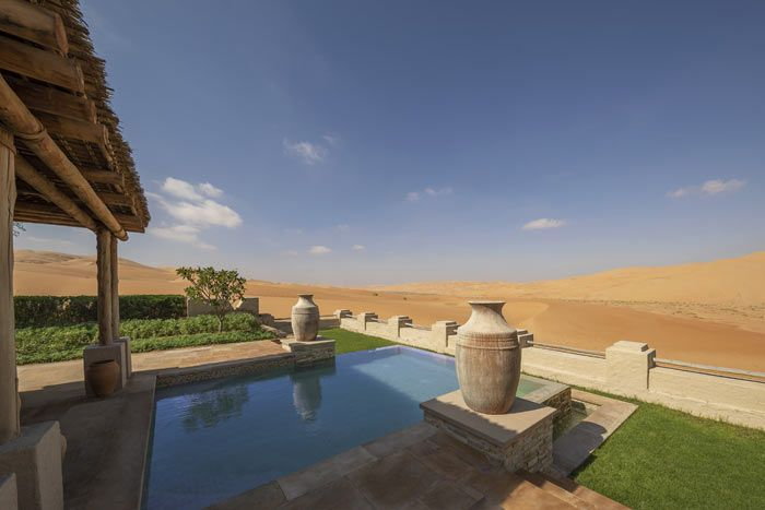 Hôtel Qasr Al Sarab Desert Resort by Anantara 5*, Abu Dhabi