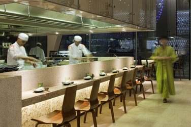L'expérience de l'art culinaire japonais... Au restaurant Kazu !