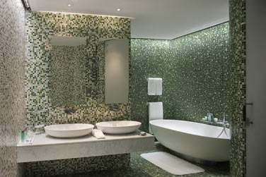 Salle de bain de la Suite Marina Deluxe