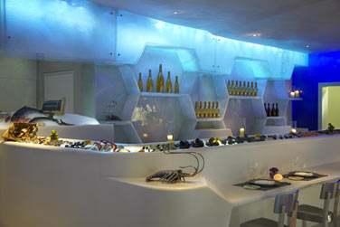 Le restaurant Nautilus... Un restaurant de fruits de mer plusieurs fois récompensé.