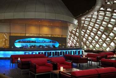 Le bar Skylite : un endroit incontournable... En particulier au moment du coucher du soleil...