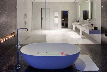 Salle de bain de la Suite Viceroy