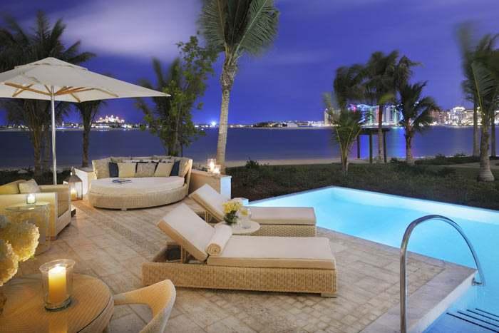 suite junior palm beach avec piscine