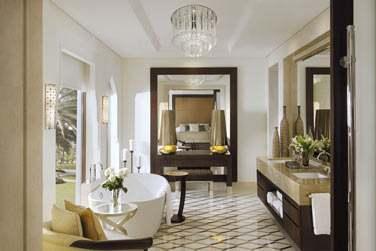 Salle de bain de la Suite Executive