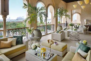 Terrasse de la Grand Suite Palm Manor House
