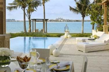 Piscine privée de la Villa Palm Beach de 2 chambres