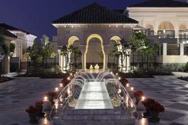 L'entrée du Spa One & Only, luxueux havre de paix