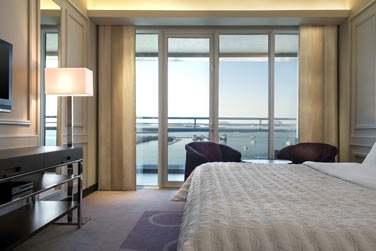 La chambre Deluxe vue mer