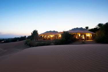 La Suite Emirates, isolée au coeur des dunes...